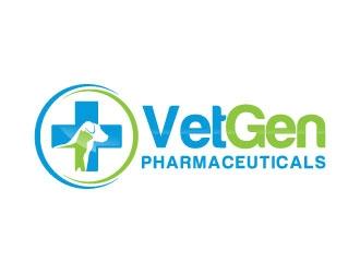 VetGenPharmaceuticals logo design by J0s3Ph