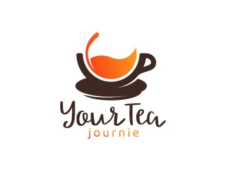 The Tea Journie logo design