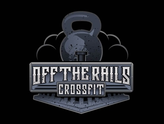 Off the Rails CrossFit logo design