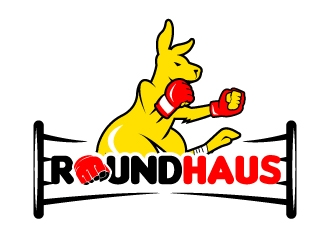 RoundHaus logo design