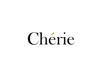 Chérie logo design