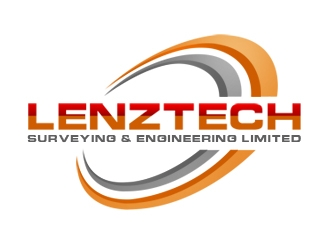 Lenztech Surveying and Engineering Limited logo design