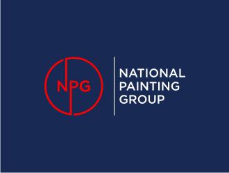 National Painting Group logo design