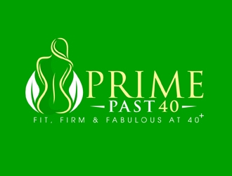 Prime Past 40 logo design
