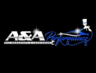 A&A Performance logo design