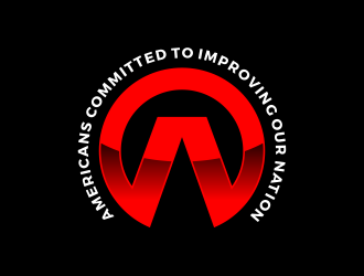 ACTION - Americans Committed To Improving Our Nation logo design
