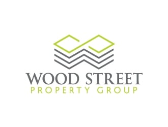 WOOD STREET PROPERTY GROUP logo design