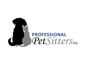 Professional Pet Sitters inc logo design