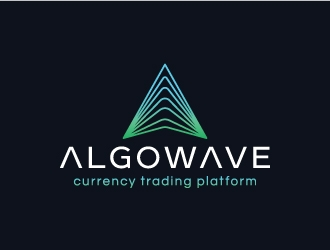 AlgoWave logo design