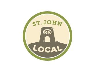 St. John Local logo design