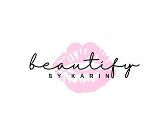Beautify By Karin logo design