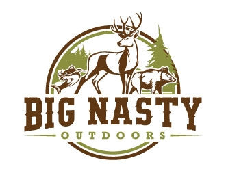 Big Nasty Outdoors logo design