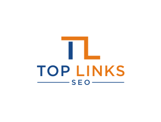 Top Links SEO logo design