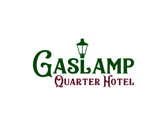 Gaslamp Quarter Hotel  logo design