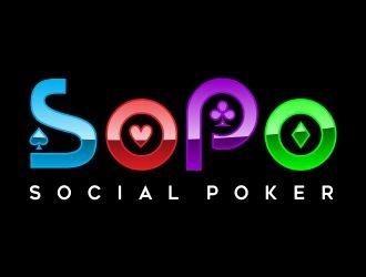 SoPo logo design