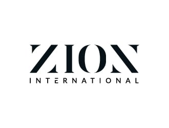 Zion International logo design
