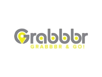Grabbbr logo design