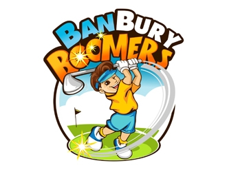 BanBury Boomers logo design