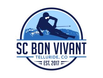 SC Bon Vivant logo design