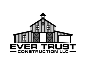 Ever Trust Construction LLC logo design