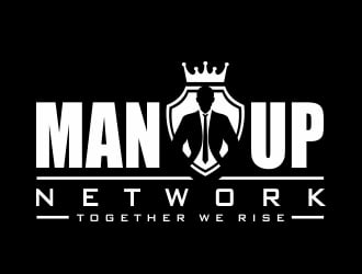 Man Up Network  logo design