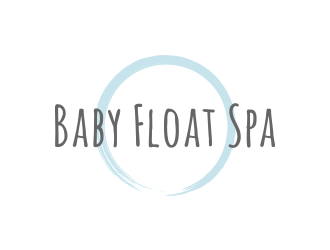 Baby Float Spa logo design