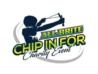 All-Brite Chip in for Charity Event logo design