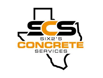 Six2's Concrete Services logo design