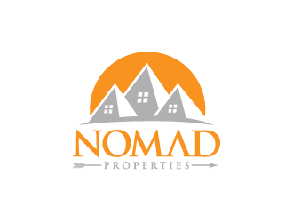 Nomad Properties LLC logo design