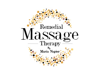Remedial Massage Therapist  logo design