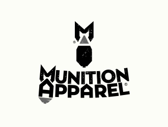 Munition Apparel logo design