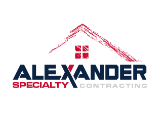 Alexander Specialty Contracting logo design