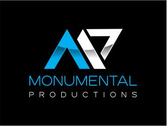Monumental Productions logo design