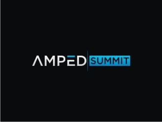 Amped Summit logo design