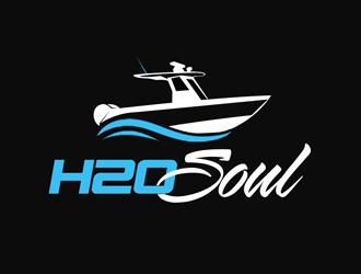 h2o Soul logo design