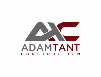 Adam Tant Construction logo design