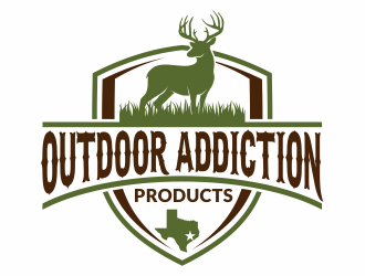 Outdoor Addiction Products logo design