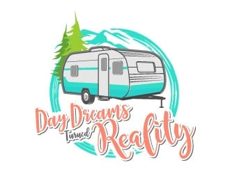 Day Dreams Turned Reality logo design