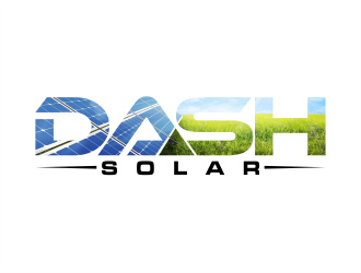 Dash Solar logo design