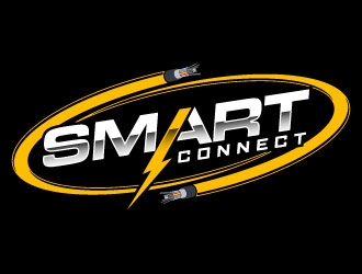 Smart Connect logo design