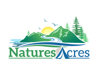 Natures Acres logo design
