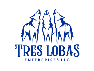 Tres Lobas Enterprises LLC logo design