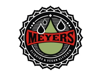 Meyers logo design