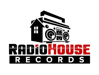 RadioHouse Records logo design