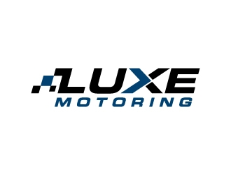 Luxe Motoring logo design