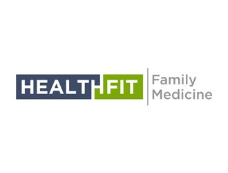 HealthFit Family Medicine logo design