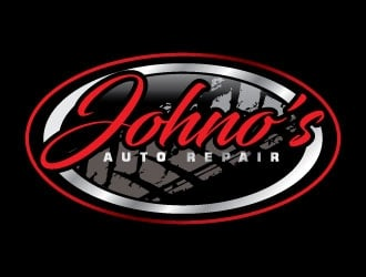 Johno's Auto Repair logo design