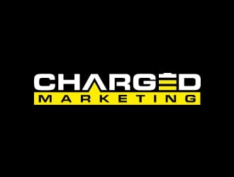 Charged Marketing  logo design