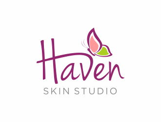 Haven Skin Studio logo design