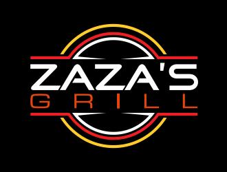 Zazas Grill logo design
